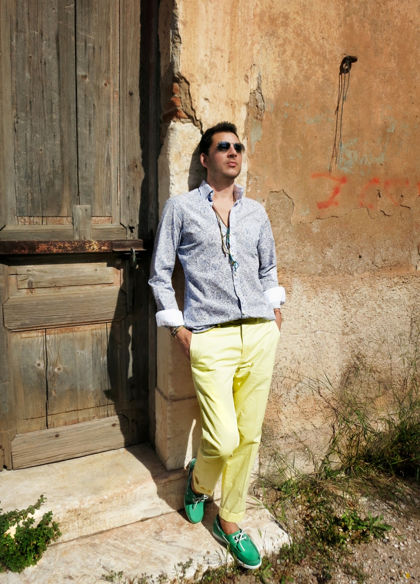 Hackett total look stylentonic