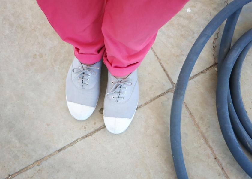 Bensimon gray tennis shoes