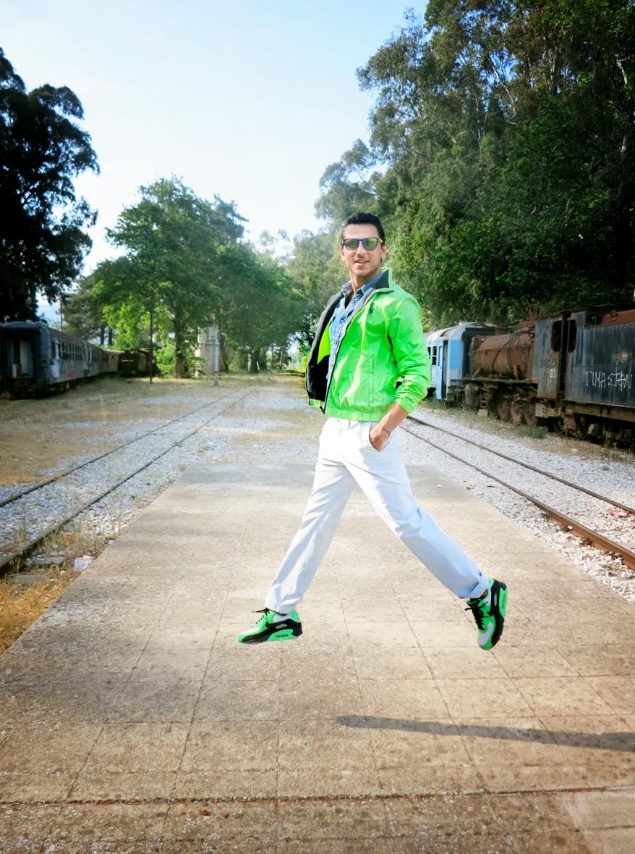 neon U.S Polo Assn jacket