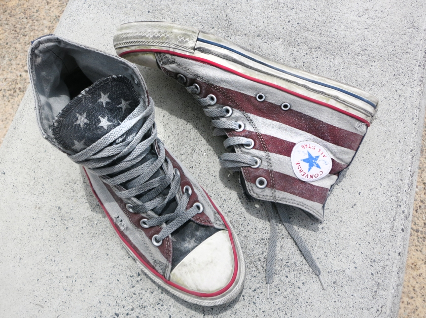 American flag All star