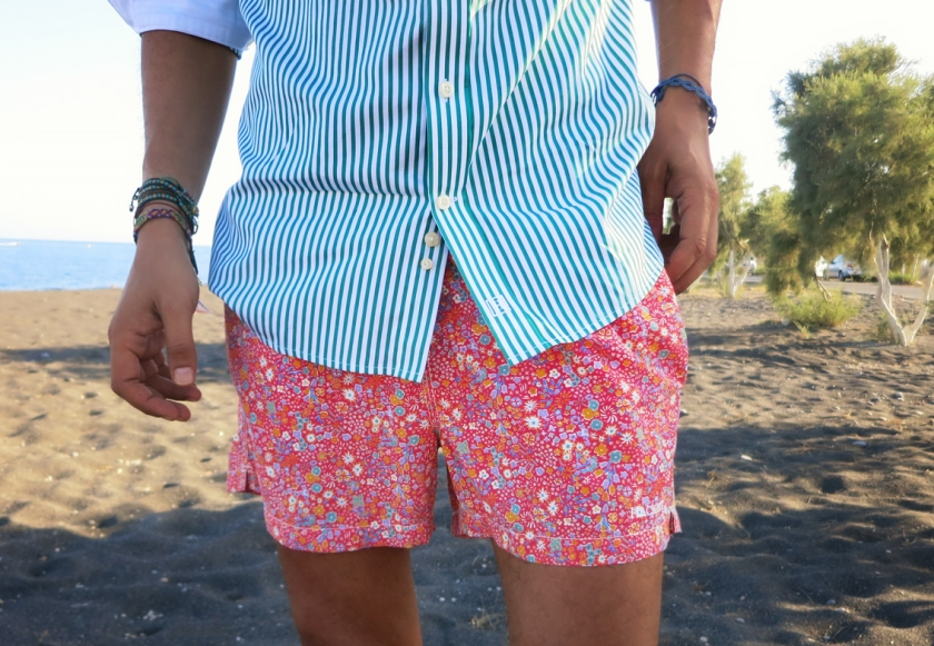Hackett floral swim shorts