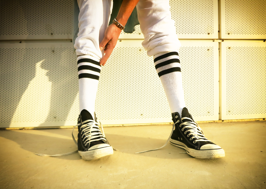 american apparel socks