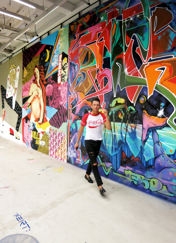 graffiti exhibition Athens