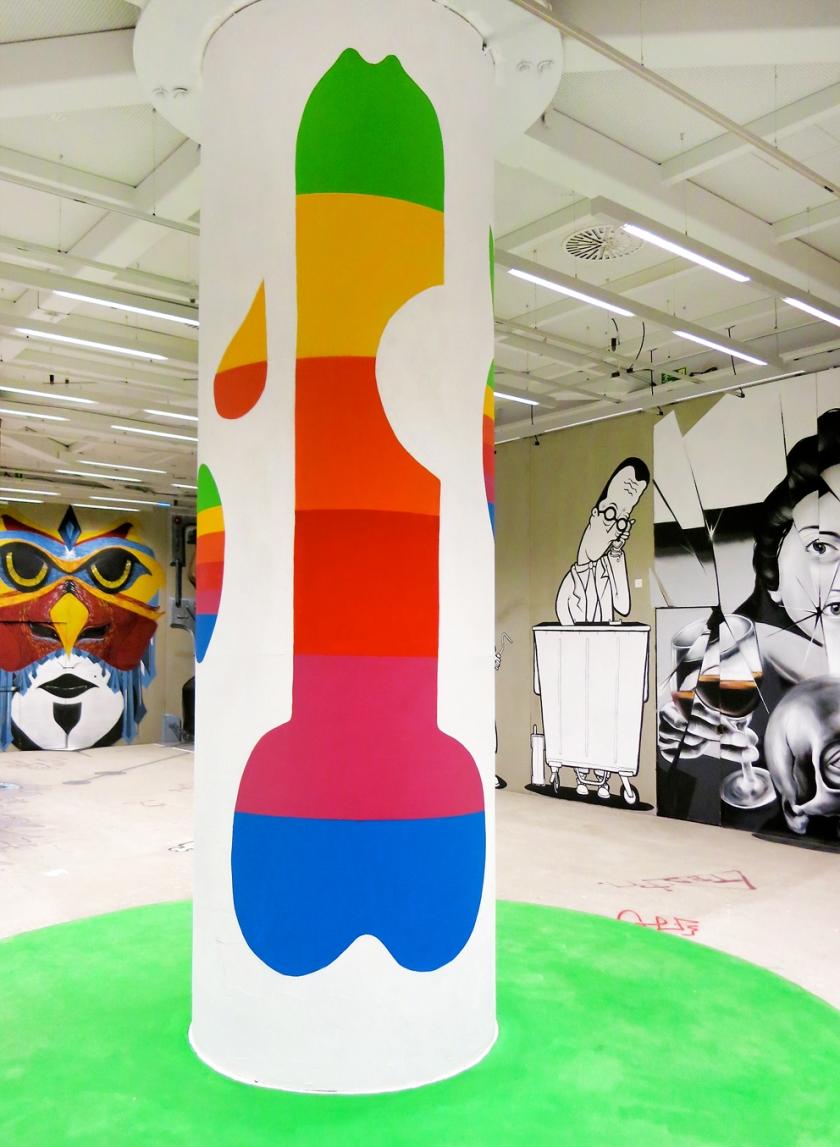 graffiti OCC exhibition