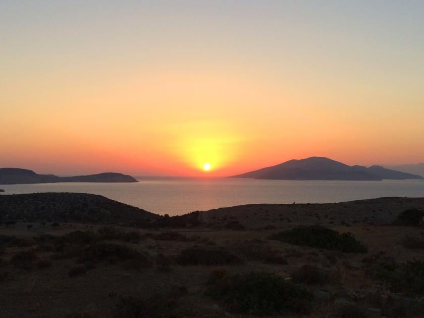 Schinoussa_sunset