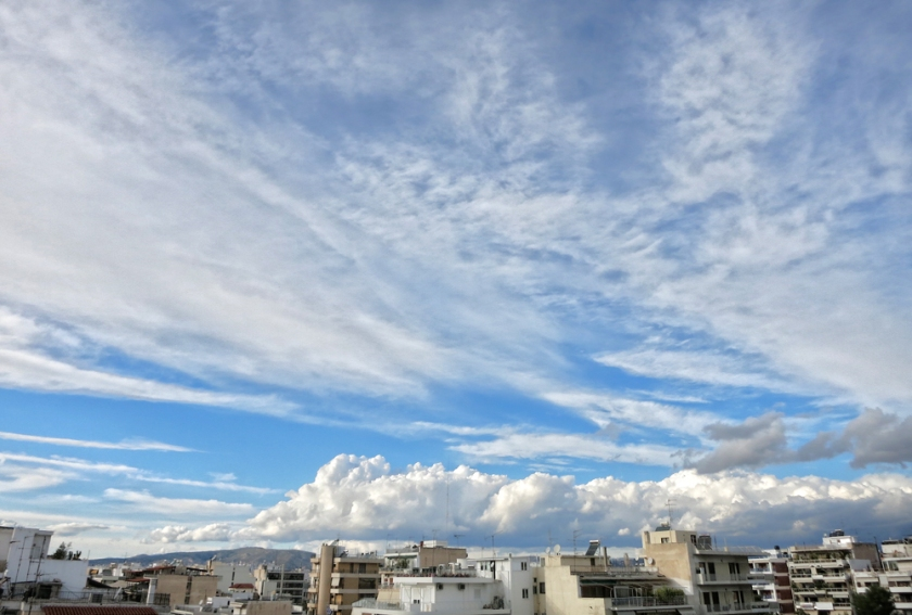 blue-sky-clouds-Athens