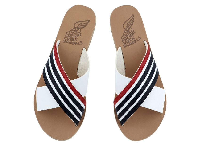 ancient-greek-sandals-thais-stripes-nautical
