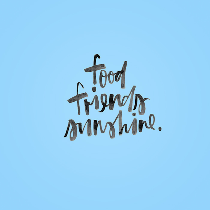 food_friends_sunshine